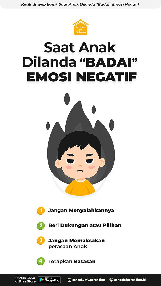 saat anak emosi yang perlu dilakukan orang tua