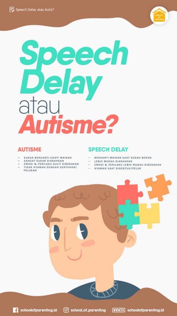 Speech Delay atau Autis? - School of Parenting