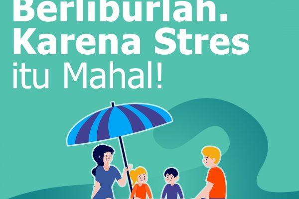 Liburan bantu cegah stres