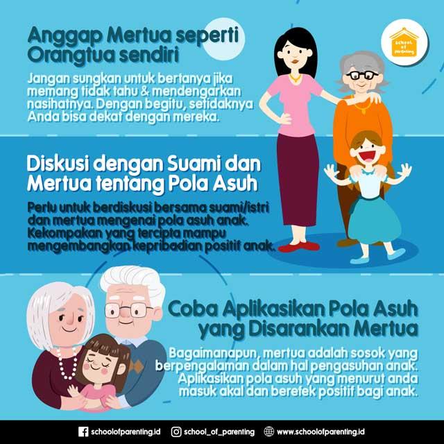 Tips Mengasuh Anak Bersama Mertua School Of Parenting