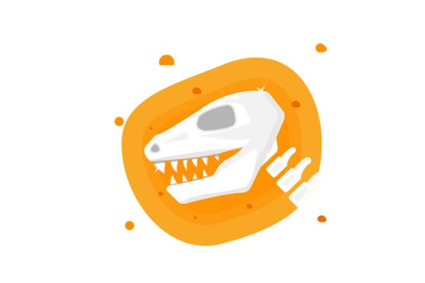 bermain fosil dinosaurus anak suka