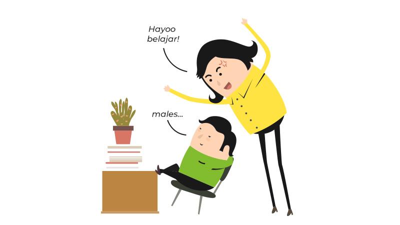 #belajardirumah anak malah  jadi Malas? Ini Tipsnya!