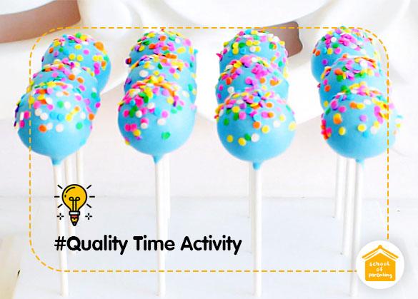 Quality Time Activity: Kreasi Bola Pelangi