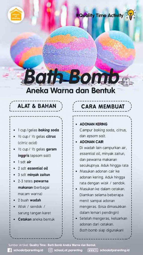 bath bomb aneka warna