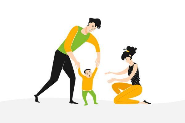 cara stimulasi berjalan anak di rumah