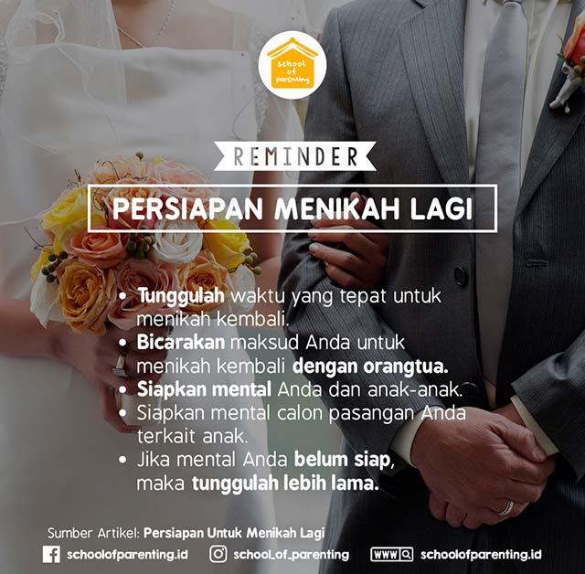 persiapan untuk menikah
