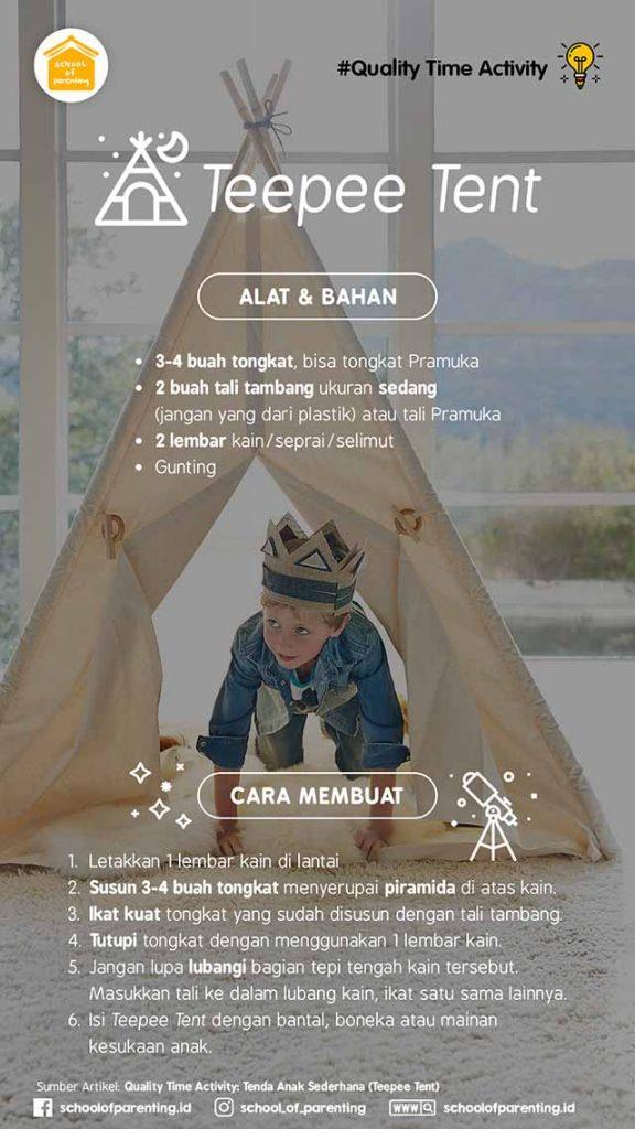 tenda anak sederhana