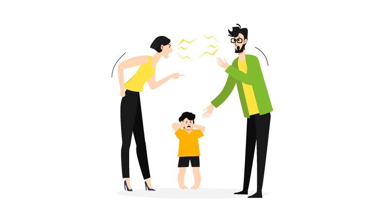 Saat Anak Melihat Kedua Orangtua Bertengkar…