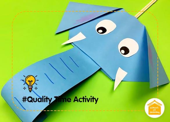 Quality Time Activity : Peluit Lidah Bentuk Gajah