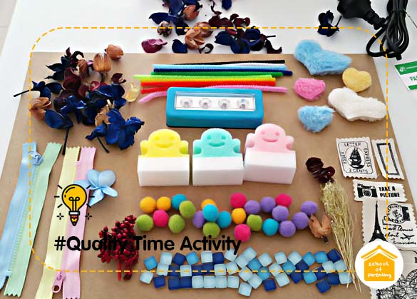 Quality Time Activity: Sensory Board untuk Latih Ketajaman Inderawi Anak