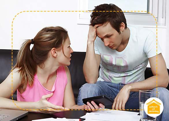 Cara hindari ribut soal uang dengan pasangan