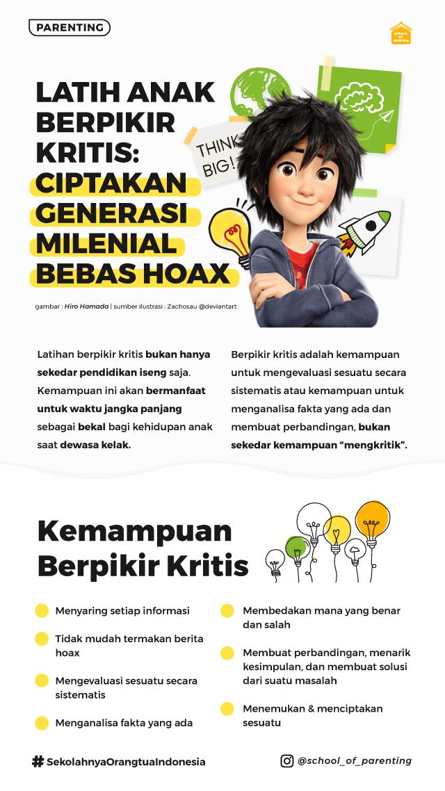 mengajarkan anak mengenali hoax
