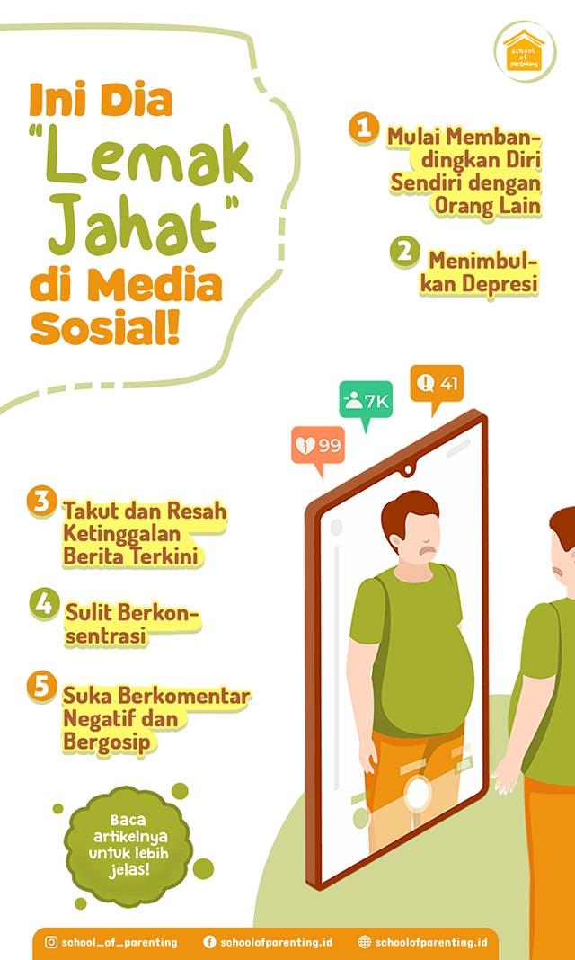 lemak jahat media sosial