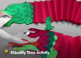 cara membuat mainan naga imlek sederhana