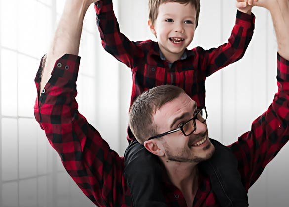 Apa saja yang dicontoh anak laki-laki dari ayahnya?