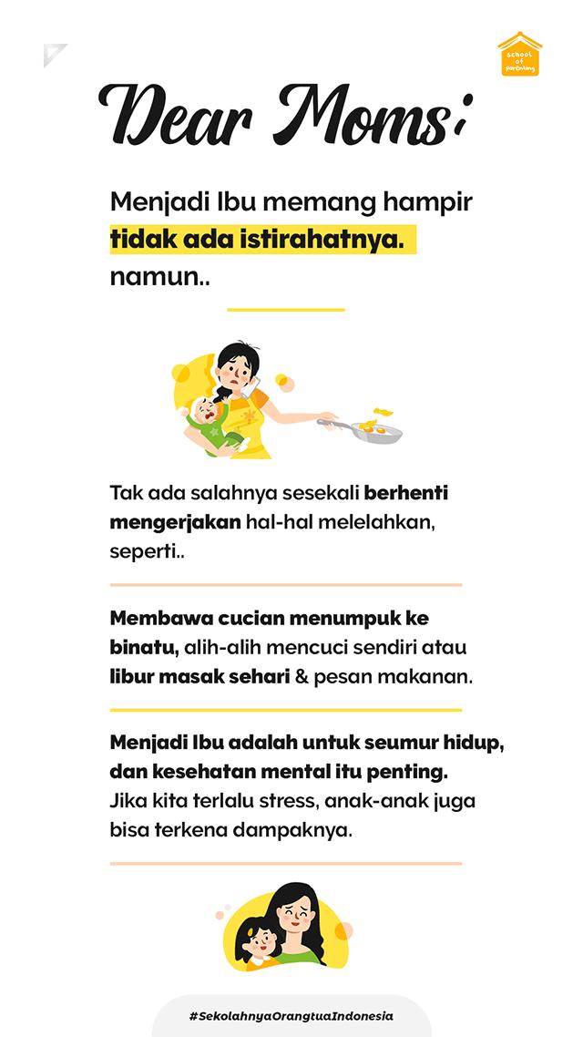 tips untuk para Ibu yang kelelahan