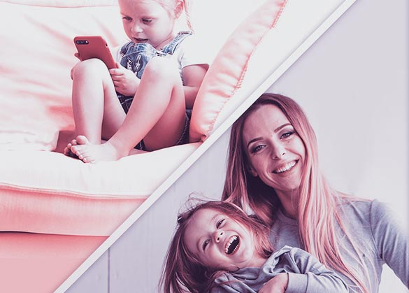 Manfaat main bersama ibu