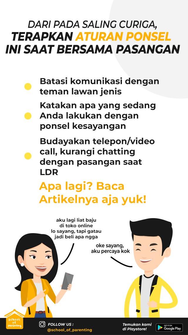aturan ponsel untuk suami istri