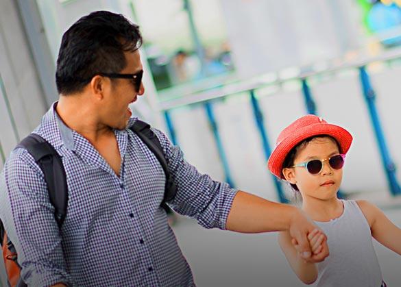 Tips ayah berbelanja bersama anak