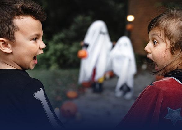tips menenangkan anak saat anak melihat hantu