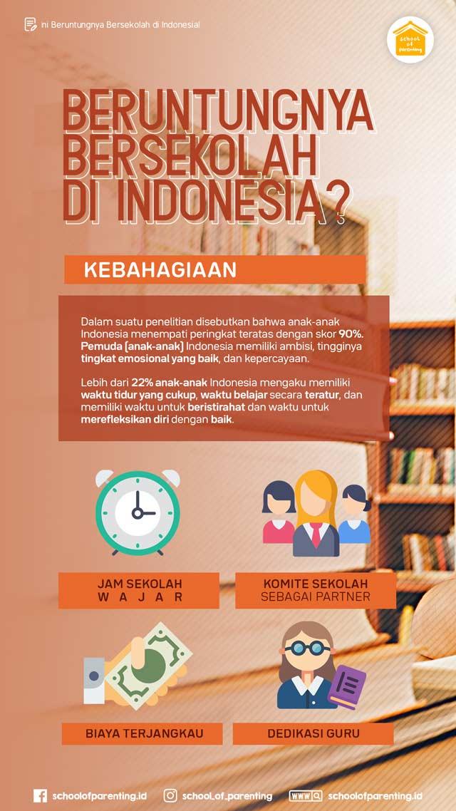 keuntungan sekolah di indonesia