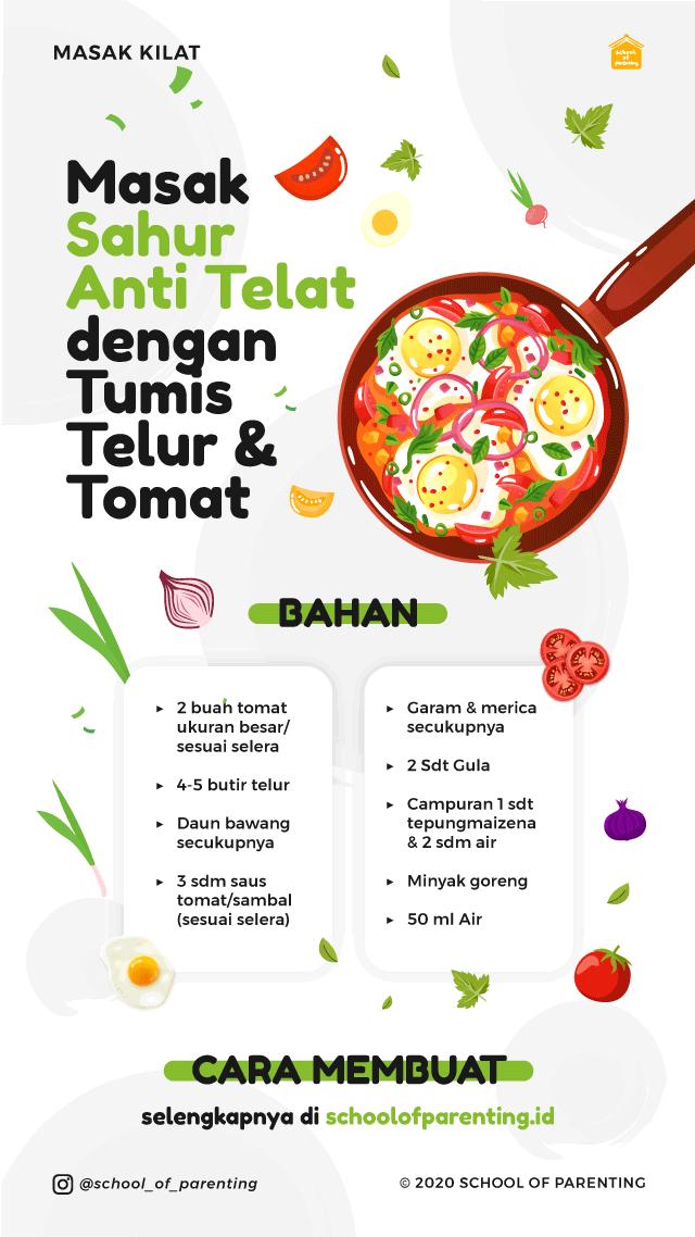 resep tumis telur dan tomat