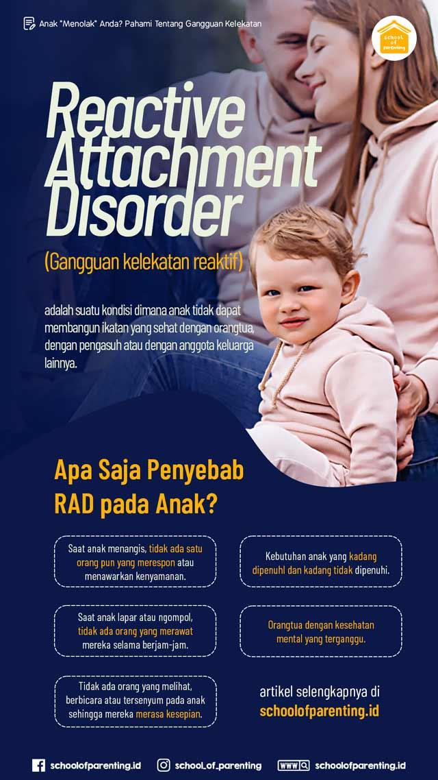 apa itu gangguan kelekatan pada anak?