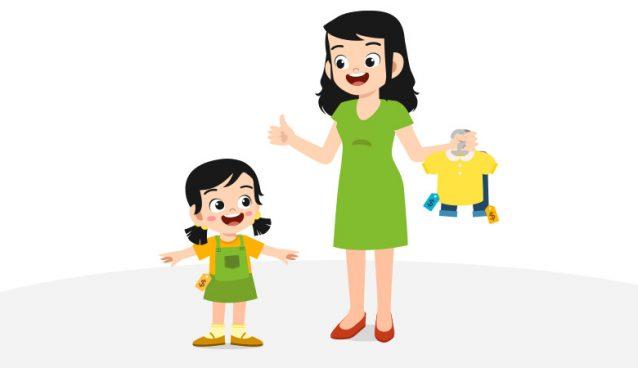 manfaat mengijinkan anak memilih baju sendiri