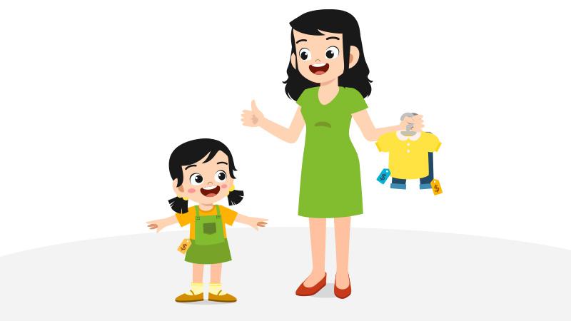 Membolehkan Anak Memilih Pakaian Sendiri, Ini Sisi Positifnya