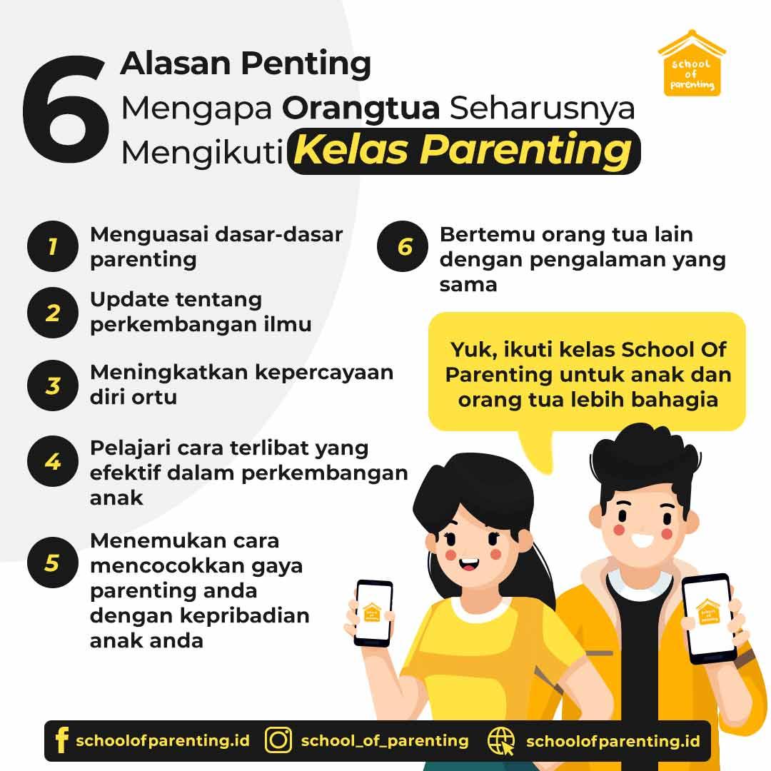 Alasan penting mengikuti kelas parenting