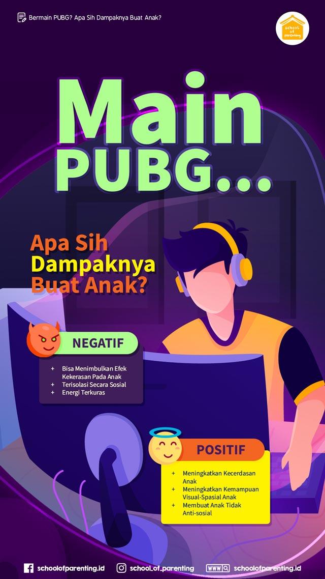 dampak bermain PUBG