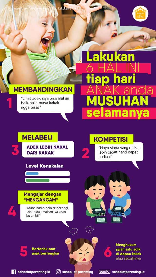 cara agar anak-anak akur