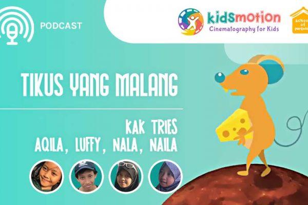 Mengajarkan anak berbagi dari podcast