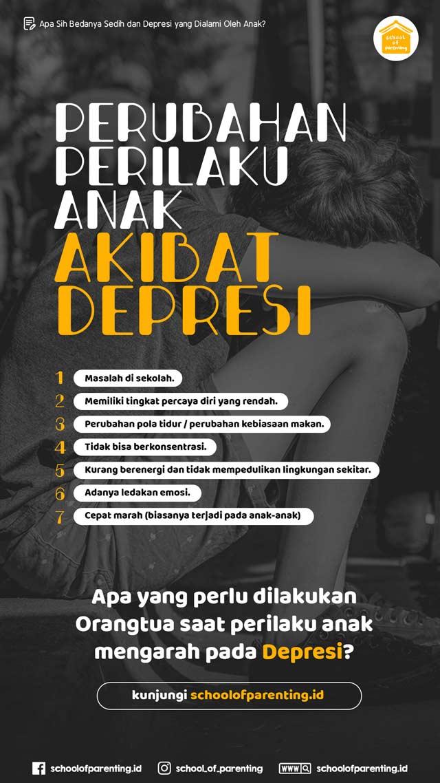 ciri depresi pada anak