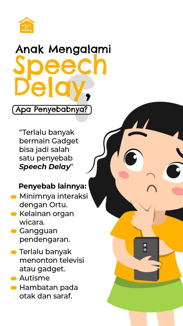 penyebab speech delay
