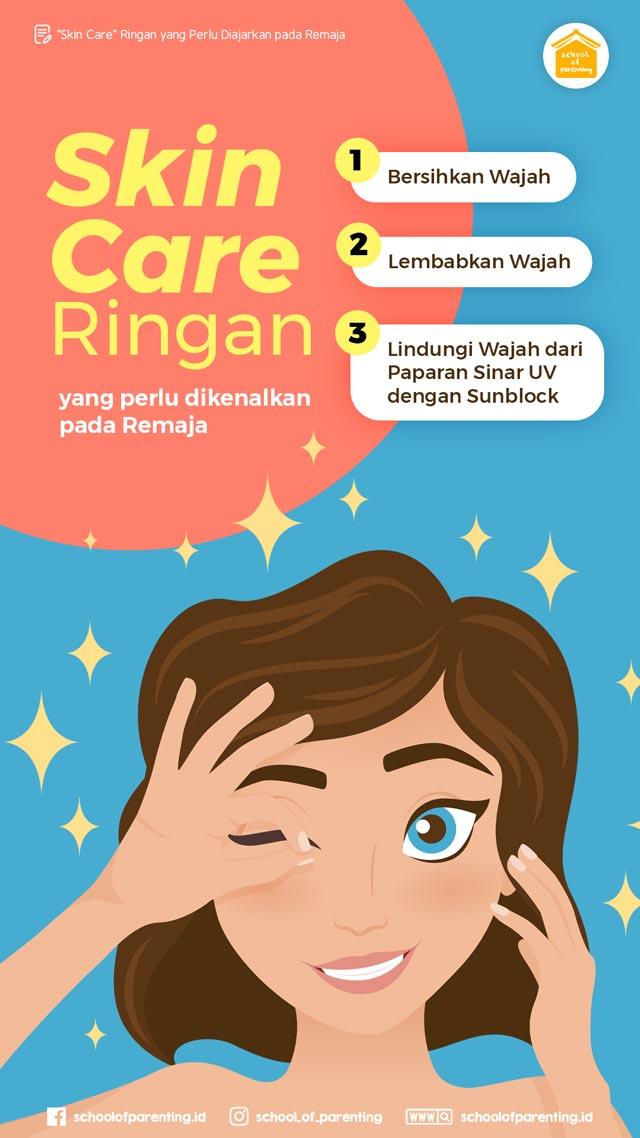 skin care ringan untuk remaja