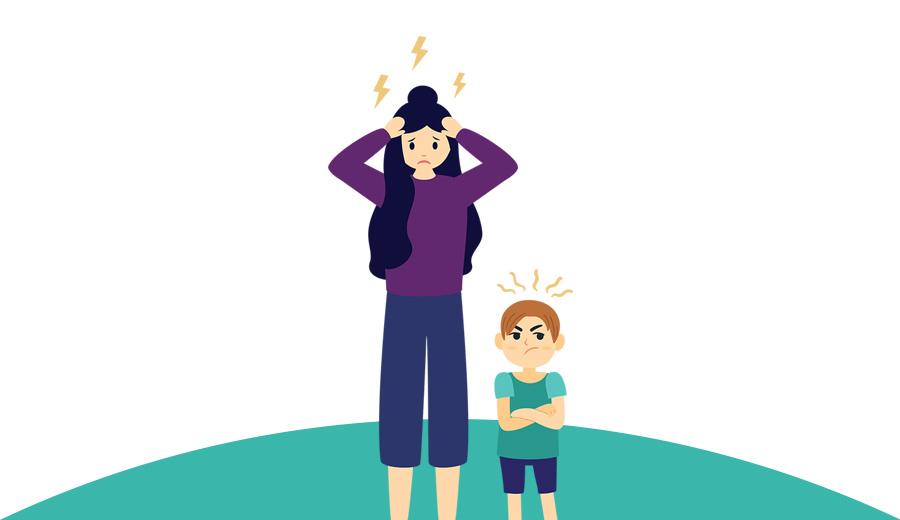 cara tidak marah pada anak