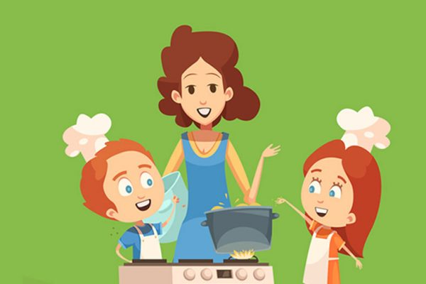 aturan ajak anak ke dapur
