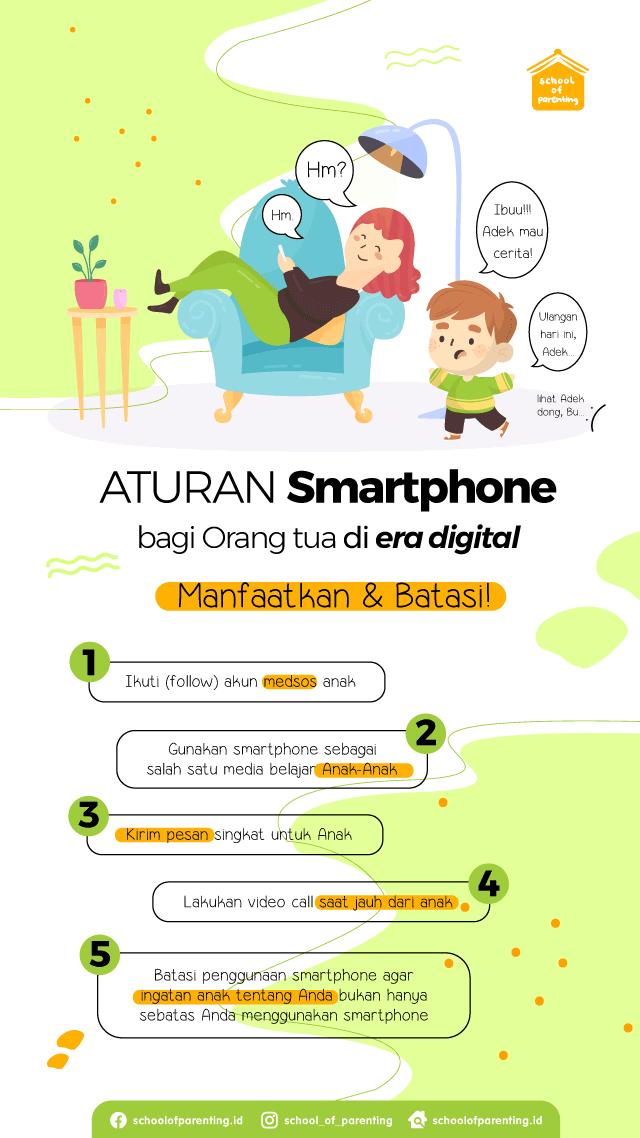Aturan smartphone untuk orang tua
