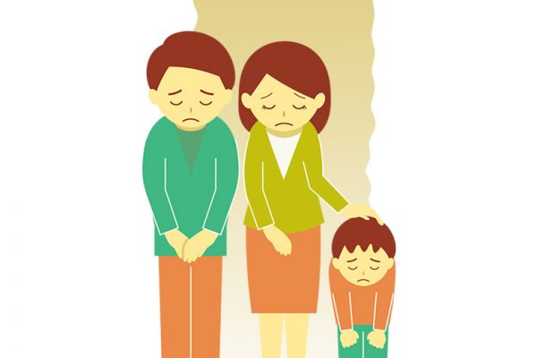 ajarkan anak minta maaf dengan tulus