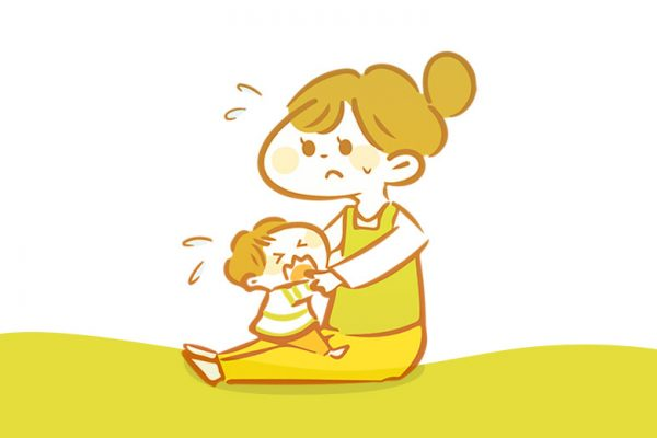 mengatasi anak terlalu lengket pada orang tua