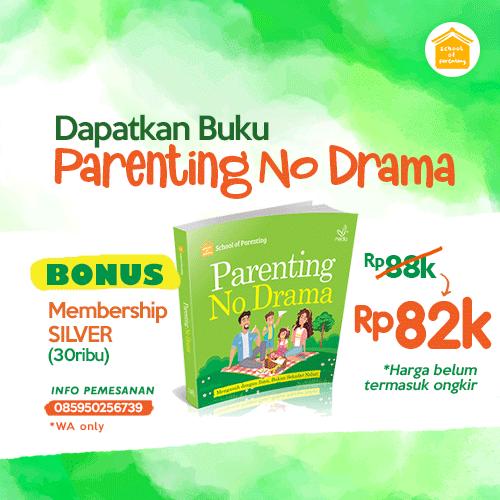 """Promo Buku SOP """"Parenting no Drama"""""""
