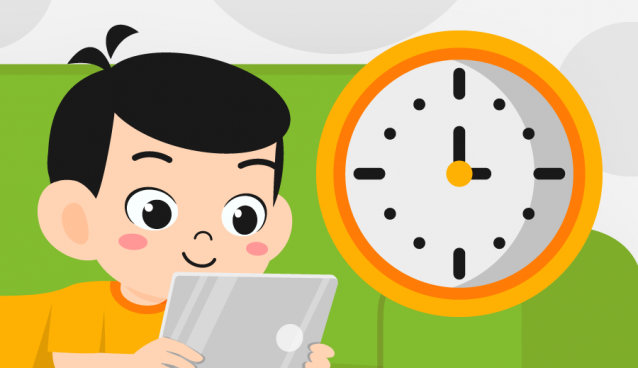 aturan screen time saat e-learning