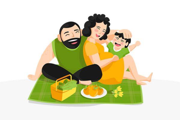 cara piknik di dalam rumah