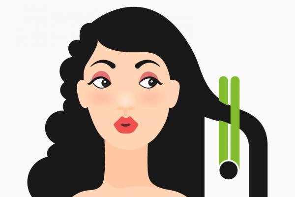 kebiasaan merusak rambut indah