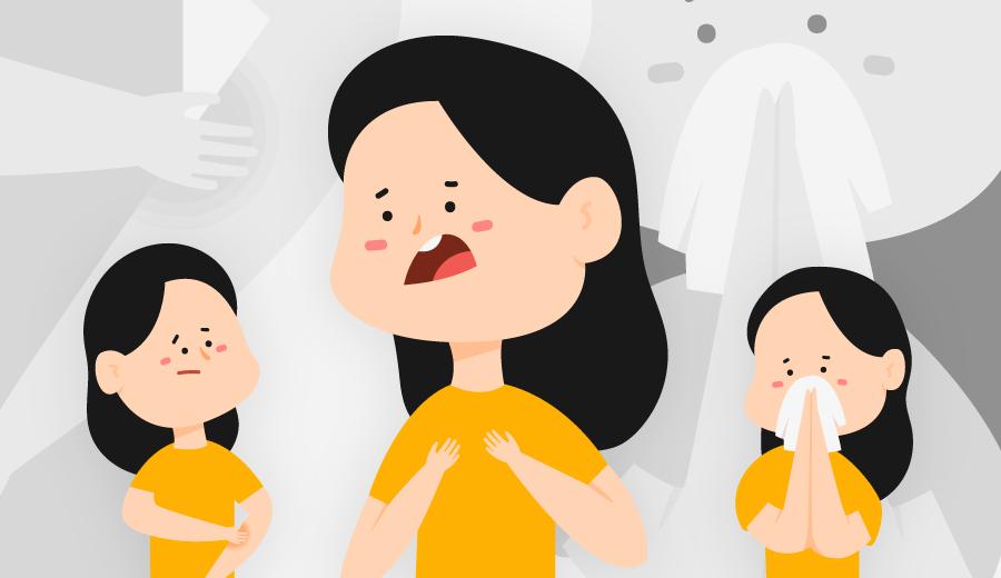Kenali Tanda Alergi Pada Anak