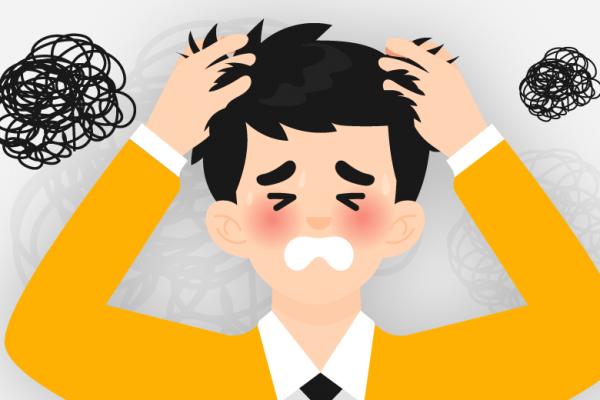 pikiran negatif membuat stres?