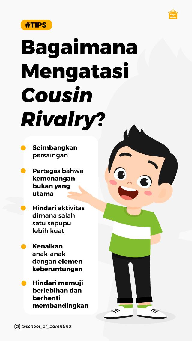 mengapa cousin rivalry terjadi?