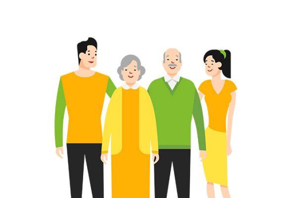 cara menjaga kesehatan mental orang tua