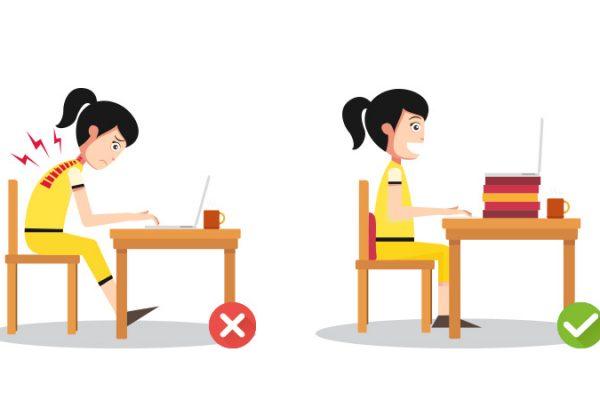 Masalah Postur Tubuh Anak: Efek Samping Pembelajaran Online